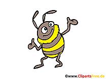 Karikatür arı resmi