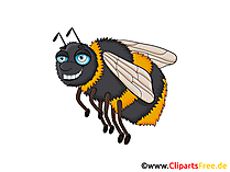 Hummel Bild, Clip Art, Illustration, Grafik gratis