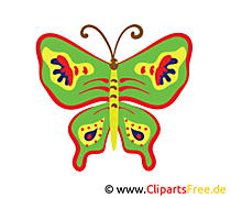 Schmetterling Bild, Clip Art, Image, Grafik, Illustration gratis