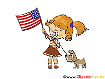 4th of July Greetings free