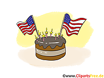 Clip Art Templates for celebration of 4th July