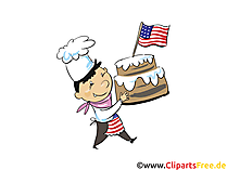Clipart 4th of July free