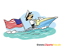 Free 4th July Clip Art, Image, Card, Comic, Cartoon