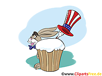 Free Printable 4th of July Cards, Cartoons, Comics