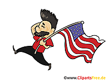 Independence Day USA Clipart, Image, Graphic free