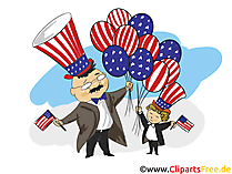 July 4th Clipart free