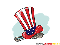 July 4th Clipart, Image free
