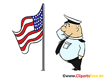 July 4th Clipart, Pic, Card, eCard, Image