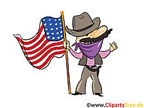 USA Clip Art free Cowboy, Texas, Wild West