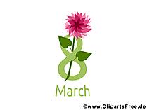 С 8 Марта Открытка-Поздравление