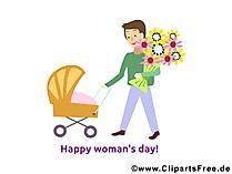 Frauentag Glueckwuensche