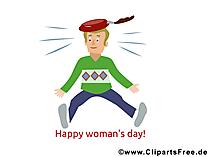 Kadınlar Günü'ne selamlar