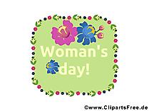 Welt Frauen Tag Illustration, Bild, Glueckwunsch