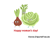 女性の日のための面白い写真