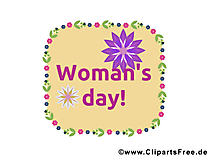 Woman_s Day Card, Clip Art, Image
