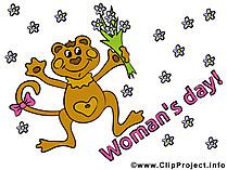 Kadınlar Günü kartı ücretsiz