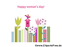 Womensday Card for free