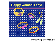 Wuensche zum Frauentag