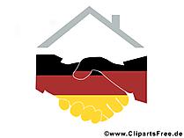 Duitsland Cliparts - Dag van de Duitse eenheid