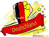 Nemecko plagát vo vysokom rozlíšení na tlač