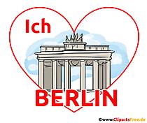 Șablon de proiectare tricouri Berlin