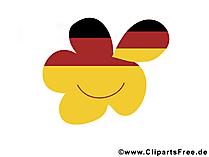 Dag van de Duitse Eenheidsschool Gratis Clipart, Foto, Poster