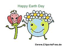 Digitale wenskaarten voor Earth Day