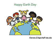 Gratis e-card voor Earth Day