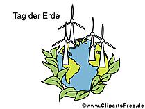 Gratis wenskaart voor Earth Day
