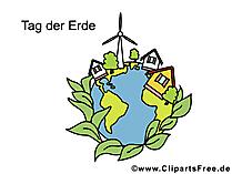 Gratis wenskaart Earth Day