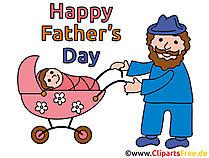 Basteln für Vatertag mit unseren Cliparts