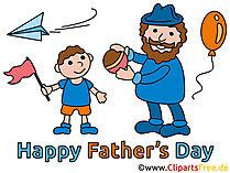 Glückckwünsche zum Vatertag