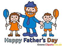 Grüße zum Vatertag Bild