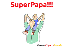 Spruch zum Vatertag