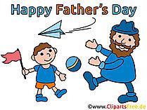 Wensen voor cliparts van Vaderdag