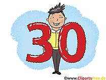 30 Geburtstag Bilder zum Downloaden