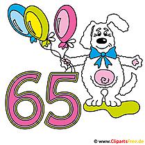 65 Jubiläum Bild gratis