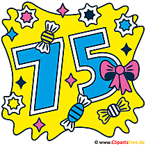 Bild Jubiläum - 75 Jahre jung