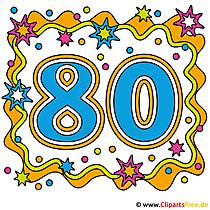 Bild Jubiläum - 80 Jahre