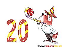 Geburtstag Bilder lustig zum 20 Geburtstag