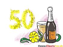 Geburtstagskarte gratis 50 Jahre - eCards zum Geburtstag versenden