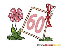 Geburtstagswünsche - Glückwünsche zum Geburtstag 60 Jahre, Jubiläum