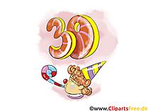 Glückwünsche Geburtstag 30 Jahre