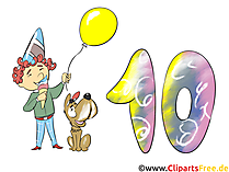 Happy Birthday Boy - eCard, Clipart, Beeld gratis