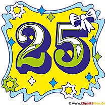 Jubilaum 25 Jahre Bild kostenlos