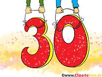 Lustige Geburtstagsbilder und Happy Birthday Bilder zum 30 Geburtstag