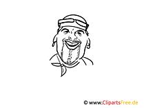 Karikatur DJ Otzi