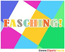 Fasching Bilder, Grusskarten, eCards