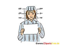 Foto Häftling Clipart, Buchillustration, Grafik, Cartoon, Comic