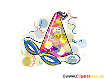 Party Karneval Bild, Clipart, Grafik
